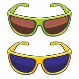 illustration of sun glasses