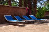 sunbathing beds