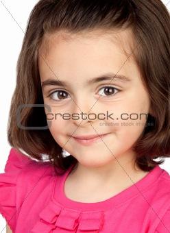 Nice portrait of beautiful girl