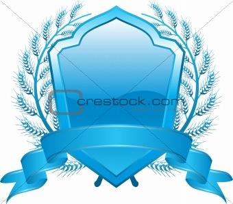 blue shield design