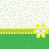 Green greeting card