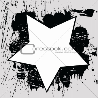 Grunge background with black spots