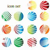 icon set, web buttons