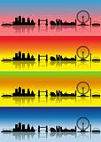 London in four seasons