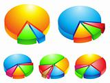3d pie graphs