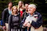 Elderly Man Tour Guide