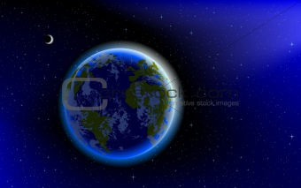 Blue Marble, planet Earth