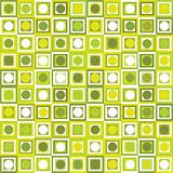 Pattern with geometrical shapes