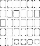 vector pattern frames set