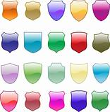 Gradation shield design set