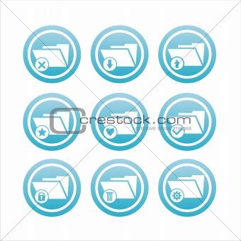 folder signs