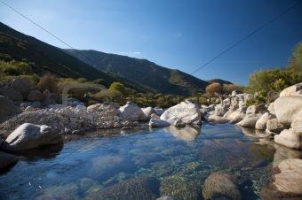 gredos mountain river