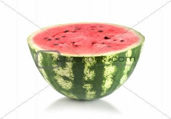 Fresh and ripe watermelon