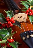 Violin with Holly