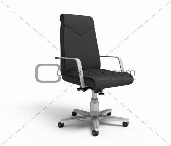 Black office armchair
