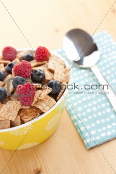 cinnamon cereals with fruits