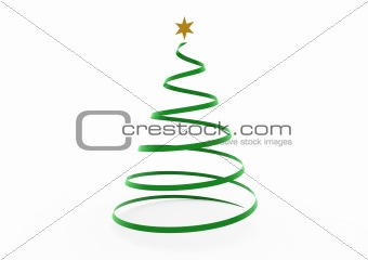 3d christmas tree star
