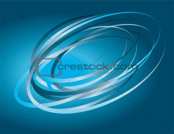 Abstract background of perpetual motion