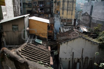 Old Buildings - Macau