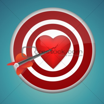 aiming at heart