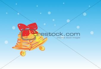 christmas bell - 4 of 6 christmas cards