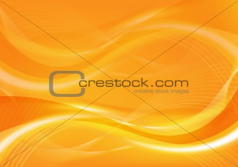 abstract orange design