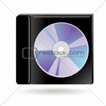 cd in a box