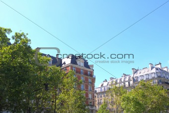 beautiful Parisian streets