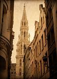 antique church building in Europe
