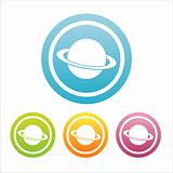 colorful  planet  signs