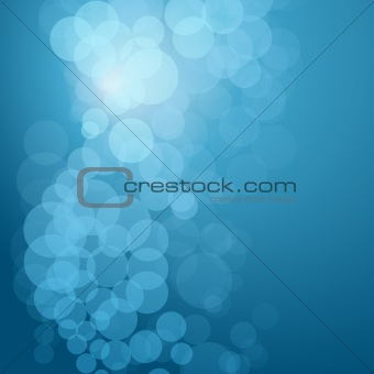 Greeting Card with Abstract Background.