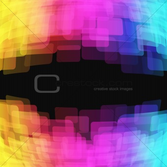 bright abstract background - vector illustration