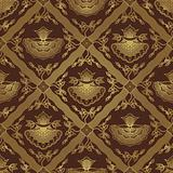 Seamless Javanese Floral Batik Pattern