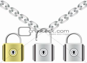 chain and locks