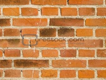 brick wall weathered closeup