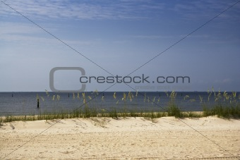 Oil Skimming Boats at Sea, Gulf Coast