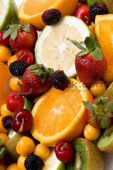 beautiful fruit background