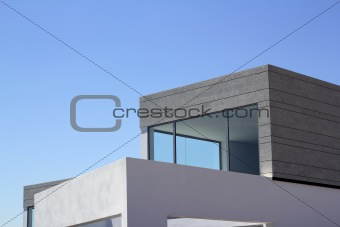 architecture modern houses crop details