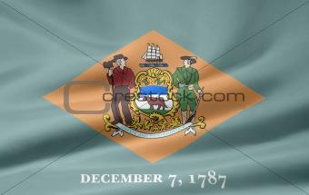 Flag of Delaware - USA