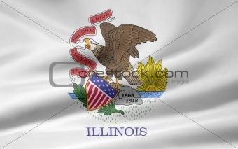 Flag of Illinois - USA