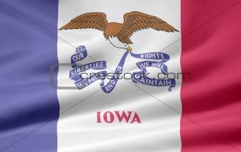 Flag of Iowa - USA