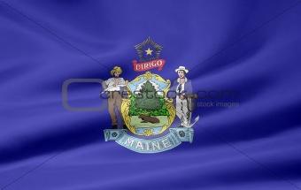 Flag of Maine - USA