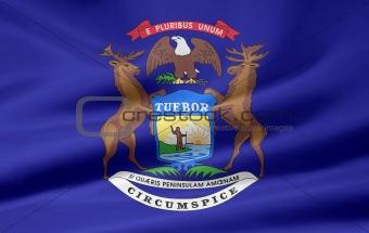 Flag of Michigan - USA