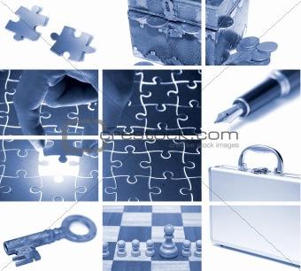 business theme composition