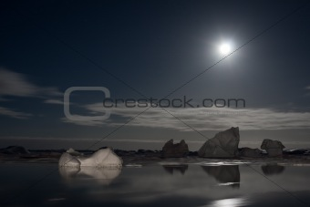 Antarctic night