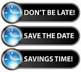 Save The Date Time Button