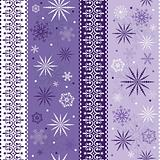 Seamless striped christmas pattern