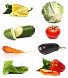 fresh and vitamins vegetables