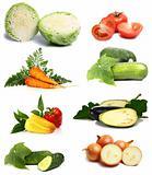 fresh and vitamins vegetables