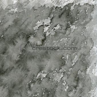black splashes on white canvas